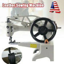 Hand Crank Patch Leather Sewing Machine Shoe Repair Boot Patcher Head DIY