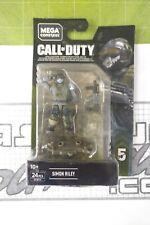 Mega Construx Call of Duty Simon Riley Gfw74 Series 5 Cod Bloks Sealed Moc