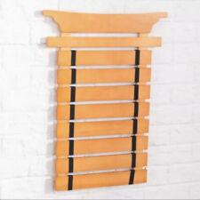 Martial Arts 8 Belt Holder Rack - Wall Display - Organizer Storage - New