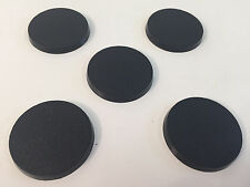 Lot Of 5 40mm Round Bases Warhammer 40k Games Workshop Brand Terminator Bits #1