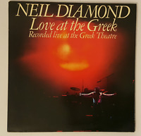Love At The Greek, Neil Diamond, Vinyl LP Record Album, Good Condition