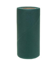 Falk Fabrics Tulle Spool for Decoration, 6-Inch by 25-Yard, Jade