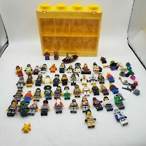 47 Lego Minifigures + extras and display/strorage case, hobbit, ninjago, minifig