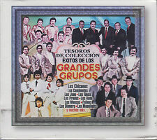 CD - Exitos De Los Grandes Grupos NEW 3 CD's Tesoros De Coleccion FAST SHIPPING!