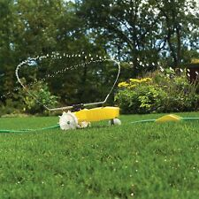 NELSON TRAVELING SPRINKLER GRASS WATERING LAWN GARDEN PATIO CARE AUTO SYSTEM USA