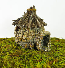 Closeout! Dollhouse Miniature Fairy Garden Troll House with Twig Roof, 16523