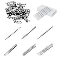 PROFESSIONAL TATTOO NEEDLES HIGH PRECISION STERILE DISPOSABLE TIPS MICRO BLADING