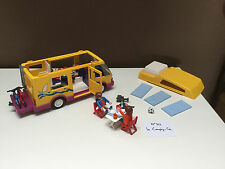 CAMPING CAR 3945 PERSONNAGES ENFANTS VACANCE VTT FOOT LITS PLAYMOBIL n°30