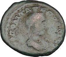 ELAGABALUS Nicopolis ad Istrum  Rare Ancient Roman Coin Serapis Osiris  i48358