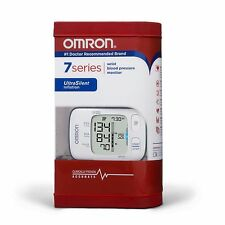 OMRON - 7 SERIES - WRIST BLOOD PRESSURE MONITOR - MODEL BP652 - WHITE - RC 3897