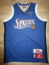 58349e20d Allen Iverson  3 Philadelphia 76ers NBA Majestic Jersey Youth Children M  10-12