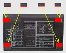 Rubber Feet for HP10C, HP11C, HP12C, HP15C and HP16C calculators