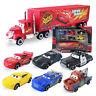Disney Pixar Car No.95 Mack Truck Lightning McQueen Toy Car 6pc Set Xmas Gift