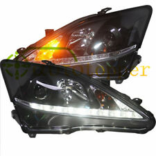 Headlights With LED DRL And Bi-xenon Projector For 2006-2012 Lexus IS250 IS350