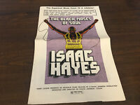 PRESSBOOK MOVIE POSTER ADDS MATS ISAAC HAYES BLACK MOSES OF SOUL