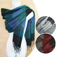 Soft PASHMINA Shawl Womens Scarf Muffler Ladies Christmas Gift Warm Scarves