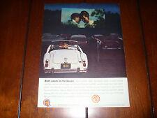 1960 MGA 1600  - ORIGINAL VINTAGE AD