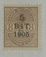 Danish West Indies Stamp #42 - OG - DWI - Denmark - SCV $12.50
