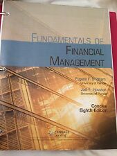 Fundamentals of Finacial Managemaent by Eugene F. Brigham and Joeal F. Houston