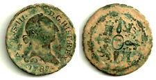 CARLOS IV. 1787. 4 MARAVEDÍ (BC-) CECA DE SEGOVIA