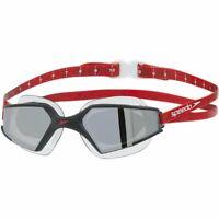 Speedo Aquapulse Max 2 Mirror Swimming Goggles, Black - Lava - Chrome