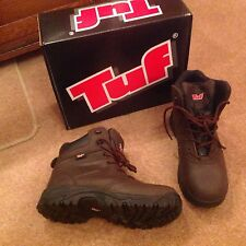 Tuf Sports Hiker Composite Safety Boot - Brown - Size 8 - Style: 160-656