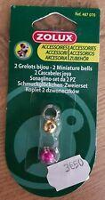 Lot de 2 grelots bijou Zolux pour chien ou chat Zolux 487070