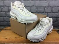 NIKE MENS UK 7 EU 41 AIR MAX 95 WHITE SUMMER SCALES TRAINERS LADIES RRP £125 C
