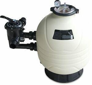Filterbehälter Mega+ Side Mount inkl. 6-Wege-Ventil Ø 425 mm bis 37,5 m³