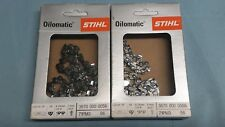 2 STIHL Sägeketten 1/4-56E-1,1 Picco Micro 3 PM3 für MSA200 25cm 3670 000 0056