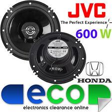 HONDA CIVIC 2001-2006 JVC 16 CM 6,5 POLLICI 600 WATT 2 VIE posteriore porta altoparlanti auto
