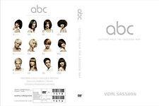 ABC CUTTING HAIR THE VIDAL SASSOON WAY EDUCATION 3 DVD.