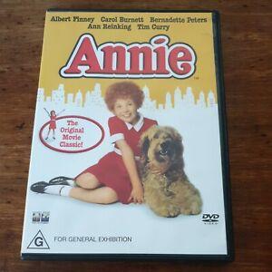 Annie DVD R4 Like New! FREE POST