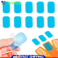 200pc Replacement Gel Pad Conductive For ABS EMS Muscle Stimulator Training Gear