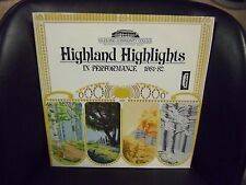 Highland Community College 1981-82 VG+ LP Radex Top Hit: Ole Man River