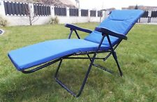 Relaxsessel Gartenstuhl Sonnenliege Klappstuhl Gartenliege Auflage Liegestuhl S3