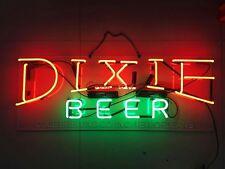 "32"" DIXIE BEER Bar Custom Real Neon Light Sign Handmade Artwork Wall Decor"