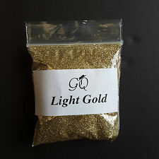 Buy 2 Get 1 Fine Glitter for Art Crafts Metallic Nail Wine Glass Decor Light Gold 10g