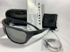 New Oakley Split Shot Sunglasses Matte Carbon/Prizm Black 9416-0264 w Hard Case