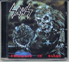 SADUS Swallowed In Black CD (Technical Thrash/Death Metal) +2 Bonus Tracks