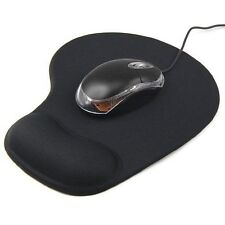 Accessotech Wrist Gel Rest Support Mouse Pad - Black