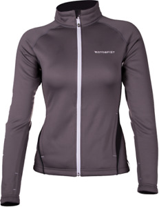 NEW Motorfist Women's Hydrophobic Fleece Jacket ~ Gray ~ L ~ 20617-1516