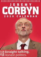 Jeremy Corbyn 2020 Wall Calendar - Funny / Quirky - Birthday / Christmas Gift