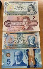 Canada 13 dollars face value Lot of Banknotes Circulated 1973-2013