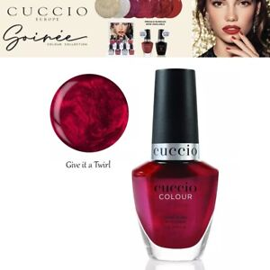 Cuccio Gel Nail Polish Sorrie Colour Give It a Twirl Collection Varnish - 13ml