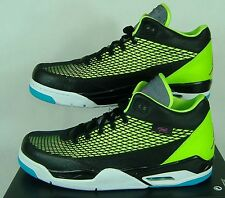 New Mens 13 NIKE Jordan FLTCLB 80's Black Green Basketball Shoes $130 599583-032