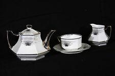 """Service à thé Art Déco """"égoiste"""" / Tea set, Limoges, Art Deco"""