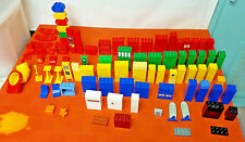Lego Duplo 275 Building Blocks HUGE MIXED LOT + Bonus 50 Mega Bloks