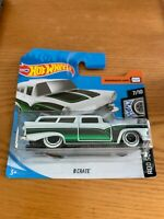 2020 Hot Wheels - White & Green 8 CRATE 74/250 Rod Squad 7/10 SHORT CARD RNAAK
