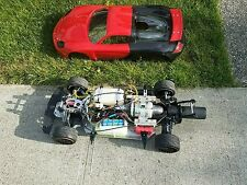 Fg Porsche 1/5 Simjet Turbine Powered RC CAR Jetcat Kingtech K80